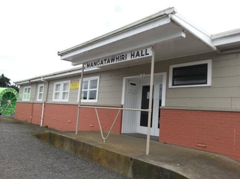 Mangatawhiri hall
