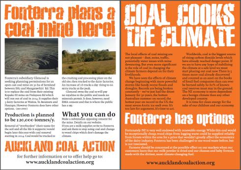 Mangatawhiri Mine leaflet image
