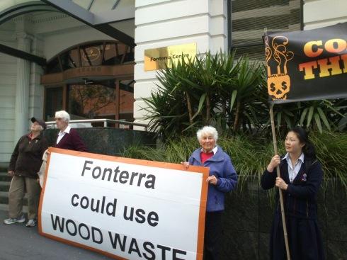 FonterraHQProtest